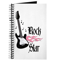 Pink Rock Star Journal
