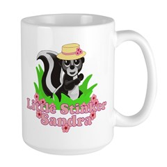 Little Stinker Sandra Large Mug