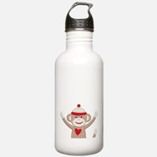 Sock Monkeys Water Bottle