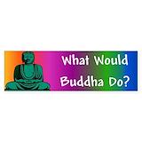 Buddha sticker Bumper Stickers