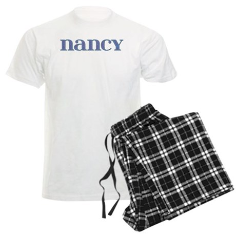 Nancy Blue Glass Men's Light Pajamas