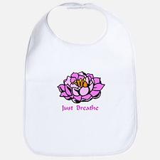 Just Breathe Gifts Bib