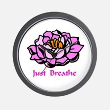 Just Breathe Gifts Wall Clock