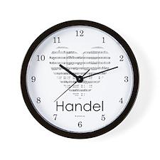 Handel Wall Clock