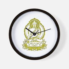 Golden Buddha Gifts Wall Clock