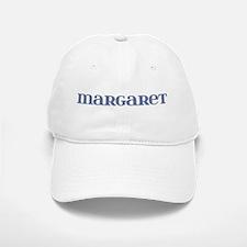 Margaret Blue Glass Baseball Baseball Cap