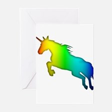 Rainbow Unicorn Greeting Cards (Pk of 20)