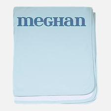 Meghan Blue Glass baby blanket