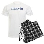 Melvin Blue Glass Men's Light Pajamas