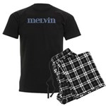 Melvin Blue Glass Men's Dark Pajamas