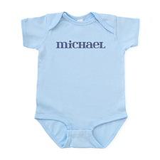 Michael Blue Glass Infant Bodysuit