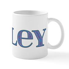 Miley Blue Glass Mug