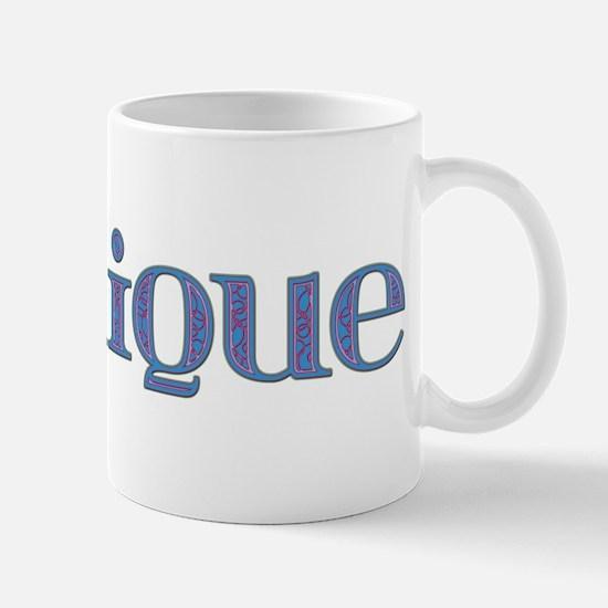 Monique Blue Glass Mug