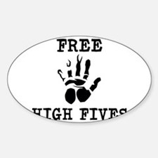 Free High Fives Decal