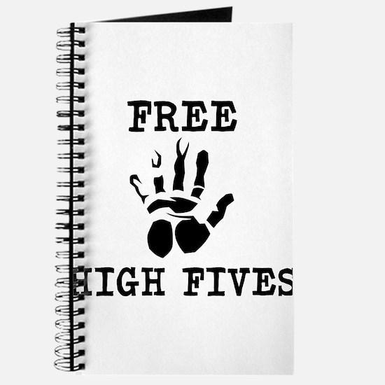 Free High Fives Journal