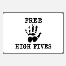 Free High Fives Banner
