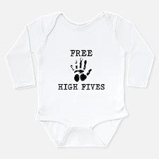 Free High Fives Onesie Romper Suit