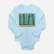 John Muir Quote Long Sleeve Infant Bodysuit