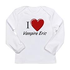 Funny Vampires Long Sleeve Infant T-Shirt