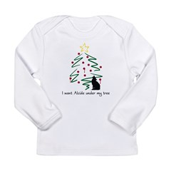 I want Alcide under my tree Long Sleeve Infant T-S