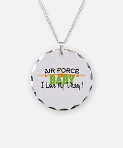 Air Force Baby Necklace