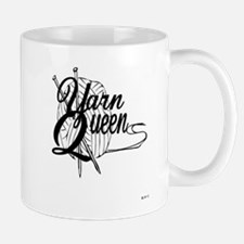 Unique Knitting queen Mug