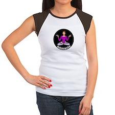 Namaste (Lotus Pose) Women's Cap Sleeve T-Shirt