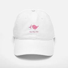 Personalized Pink Cancer Bird Baseball Baseball Cap