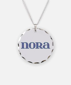 Nora Blue Glass Necklace