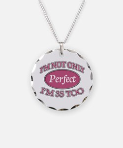 Cute 35th birthday Necklace
