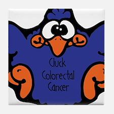 Colorectal Cancer Tile Coaster