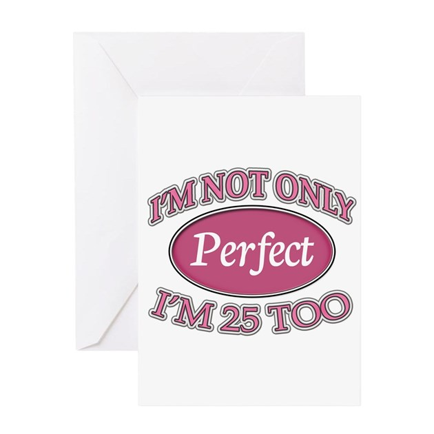 Perfect For Anniversary Cards And: Perfect Pink 25 Greeting Cards By Thebirthdaysite2