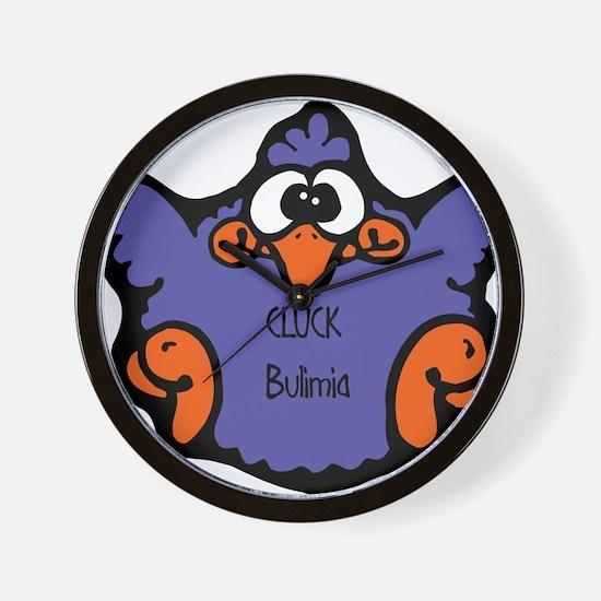 Bulimia Wall Clock
