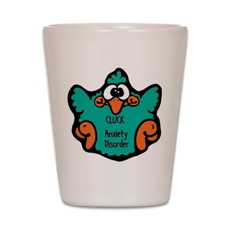 Anxiety Disorder Shot Glass