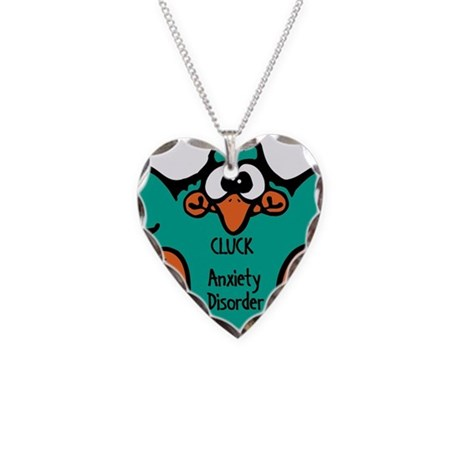 Anxiety Disorder Necklace Heart Charm