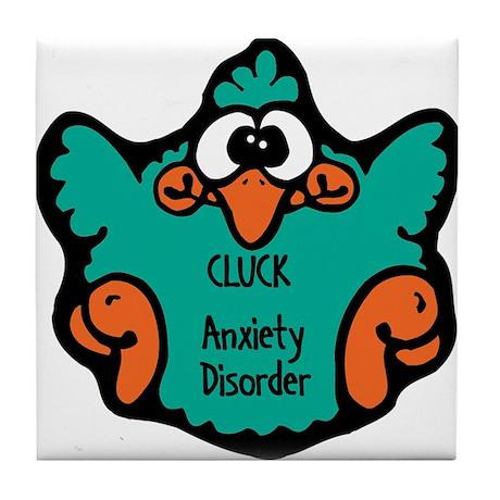 Anxiety Disorder Tile Coaster