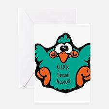 Sexual Assault Greeting Card