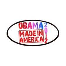 Obama 2012 Made In America Patches