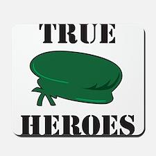 True Heroes Green Beret Mousepad