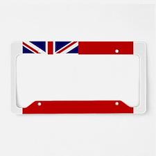 Cute Bermuda License Plate Holder