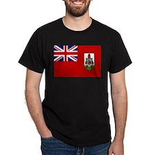 Funny Flag of bermuda T-Shirt