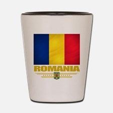 Flag of Romania Shot Glass