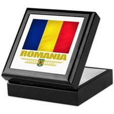 Flag of Romania Keepsake Box