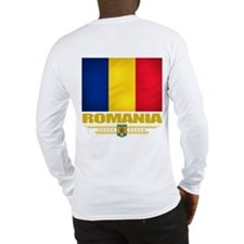 Flag of Romania Long Sleeve T-Shirt
