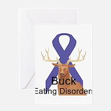 Eating Disorders Greeting Card