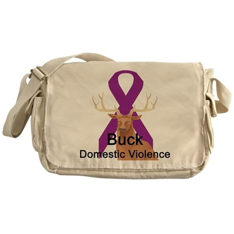 Domestic Violence Messenger Bag