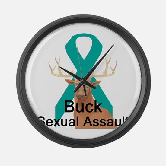 Sexual Assault Large Wall Clock