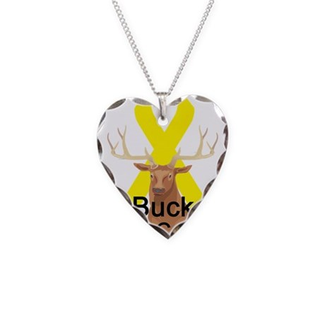 Liver cancer Necklace Heart Charm