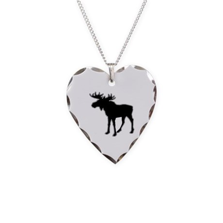 AWESOME UNIVERSITY Necklace Heart Charm