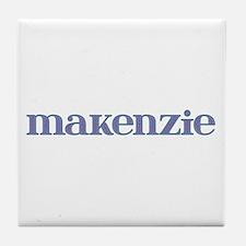 Makenzie Blue Glass Tile Coaster